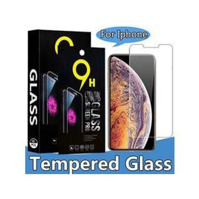 9H pack of 10 Tempered glass Screen Protector