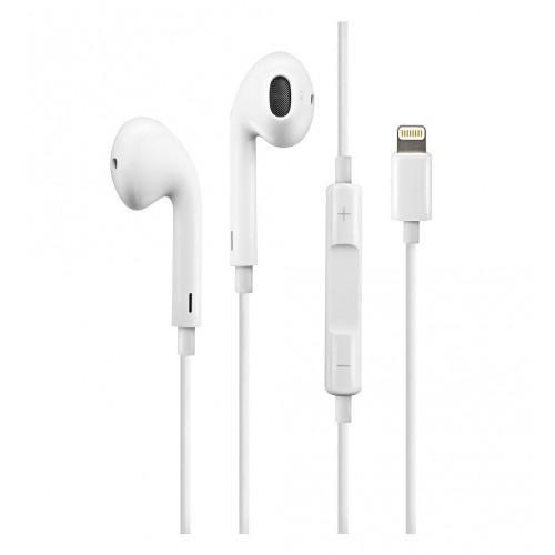 Earphones Lightning Apple Headphones with remote control