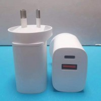 20W Dual PD +USB Type C Fast Charging Wall Plug Charger Adapter For Apple iPhone Samsung Galaxy Google Nokia Oppo Huawei iPad