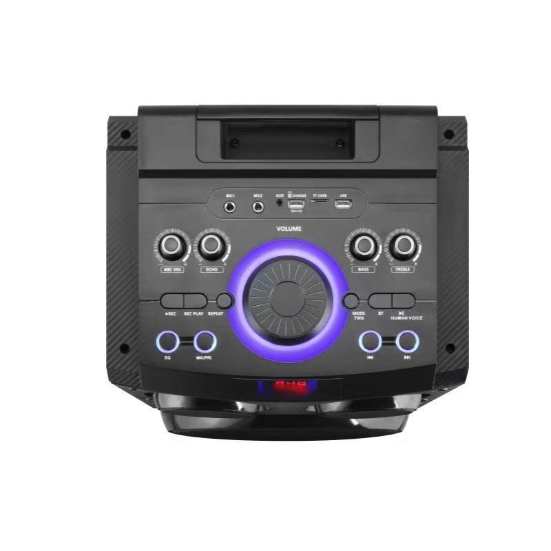 """*SOLD OUT * Dual 10"""" Party Speaker Woofer With Mic"""