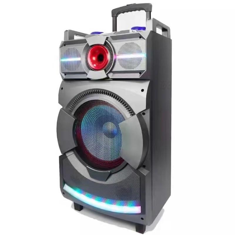 * SOLD OUT * Trolley speaker Bluetooth Speaker LED Lights Party Speaker Portable