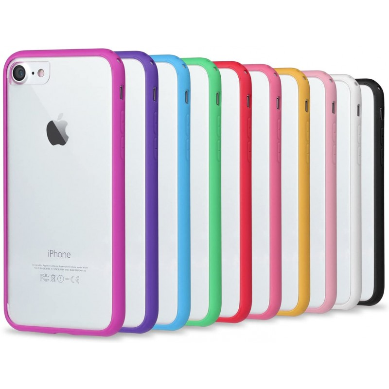 Case Apple iPhone Clear Cases with Bumper Frame