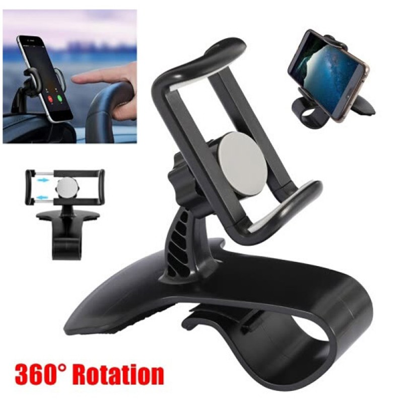 CAR UNIVERSAL DASHBOARD Mount Holder Mini Car Dashboard Heads Up Display Dashboard Cell Phone Holder for Mobile Phone GPS