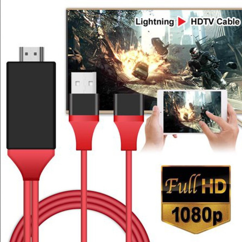 Lightning cable to HDTV Cables