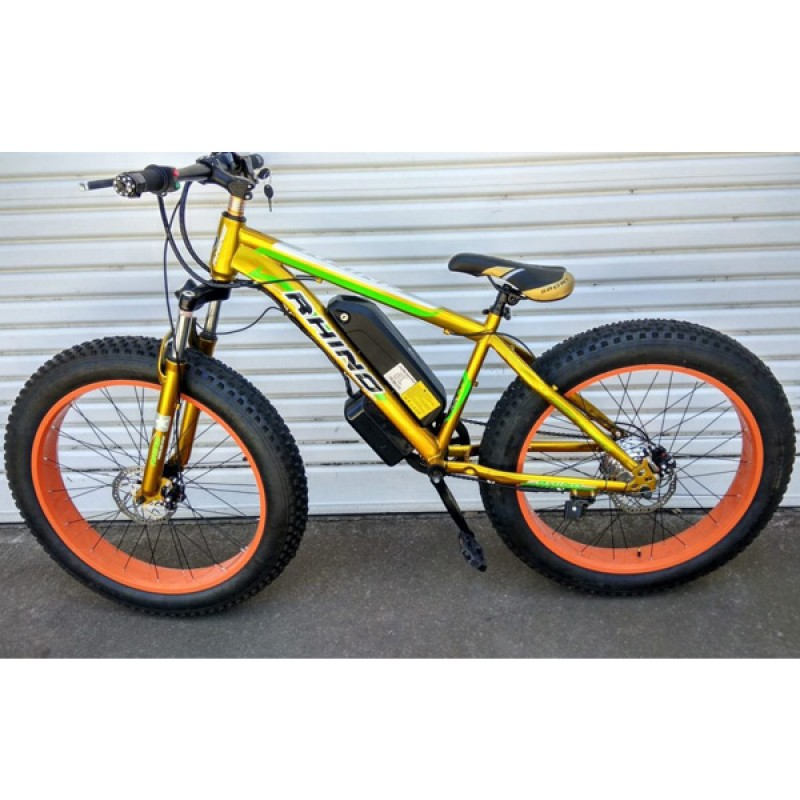 HIGH QUALITY electric mountain bike Fat tire Powerful Bicycle