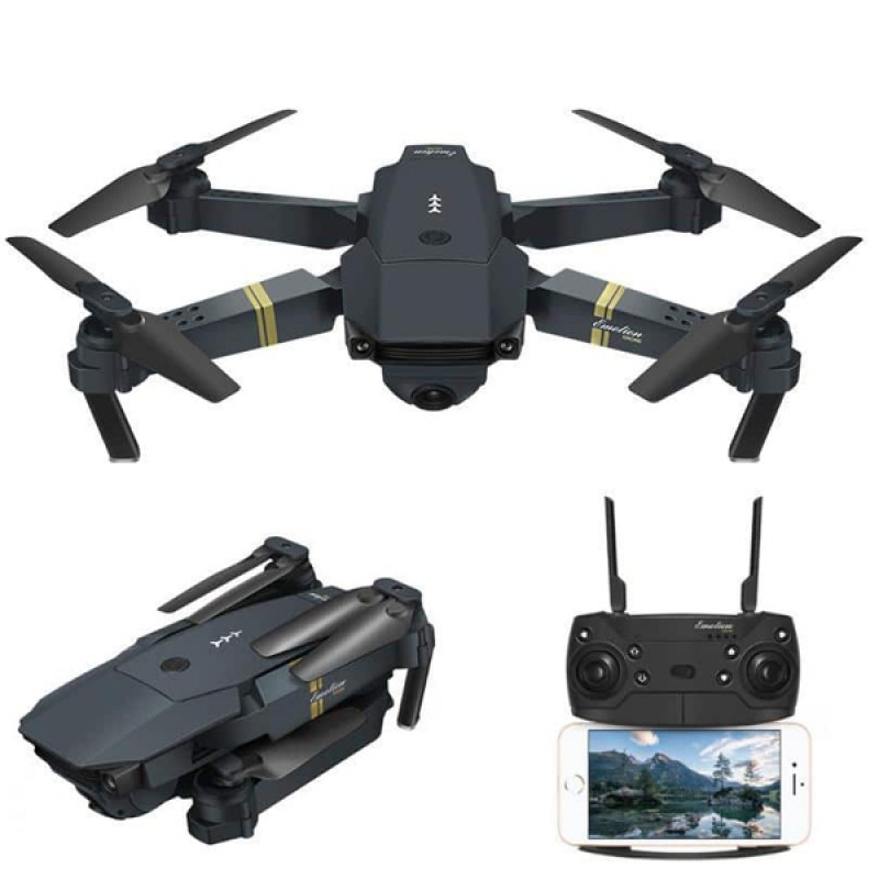 998 Micro Foldable Drone with Wide Angle HD Camera
