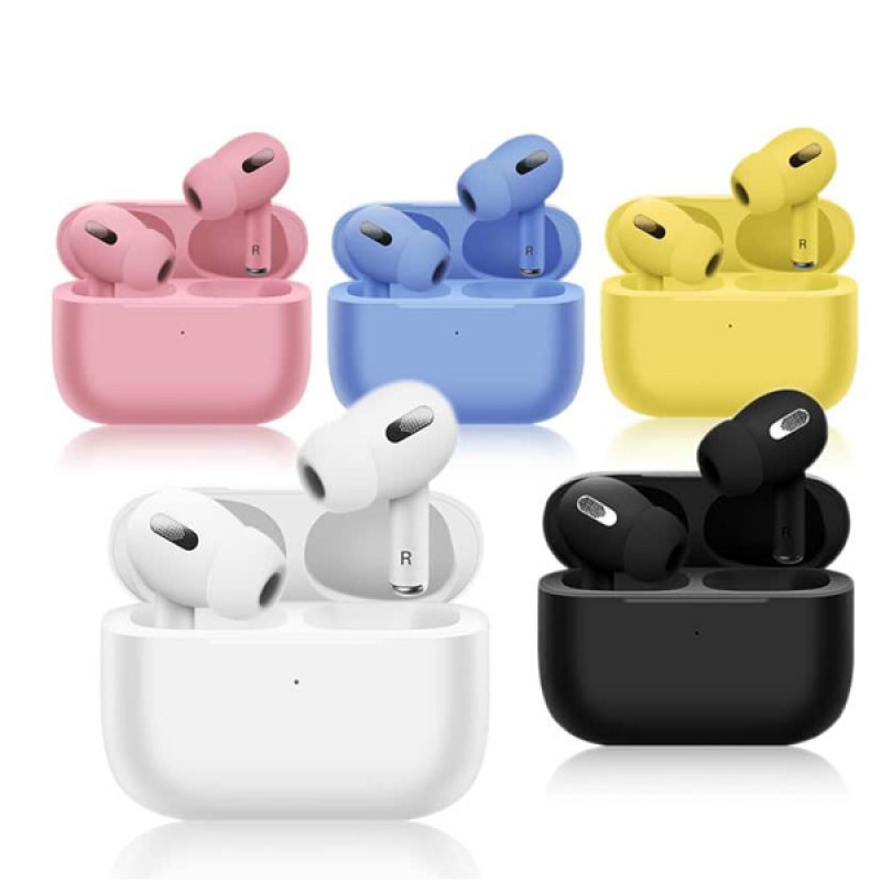 Earphones Headphones Macaroon TWS V5.0 Wireless Bluetooth HiFi Headset with Charging Case, Support Auto Pairing & Touch Control & Renaming Bluetooth