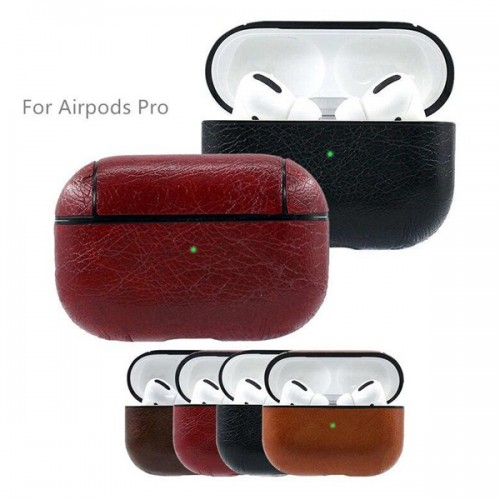 AIRPOD PRO LEATHER PROTECTIVE CASE SKIN COVER 6985216824562
