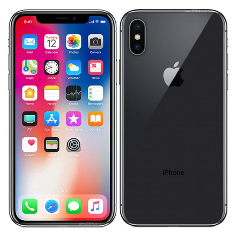 Refurbished iPhone X 256GB – Black Unlocked