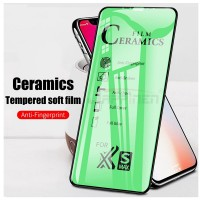 Ceramic screen protector Explosion proof shatter clear gloss film with black trim