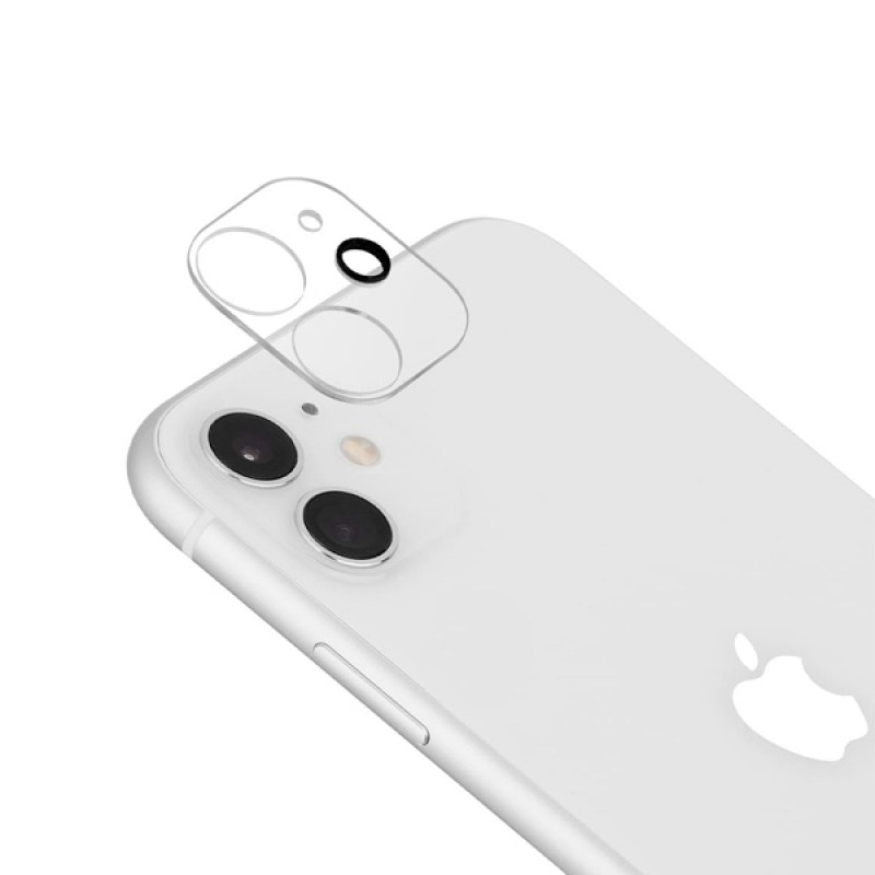Full Cover Film For iPhone 11 Camera Lens Flash Protector Tempered Glass