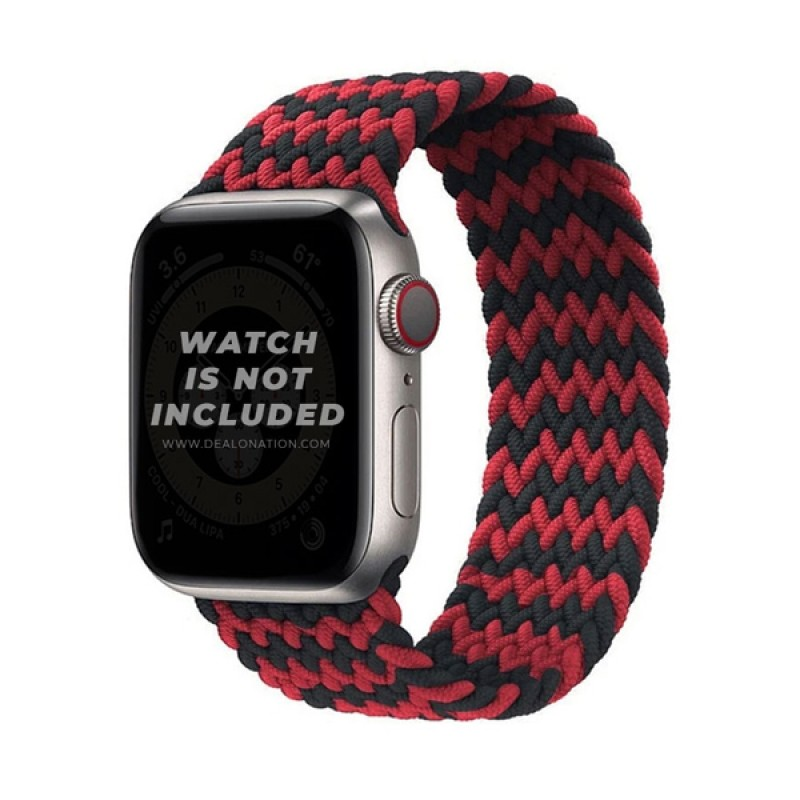 Apple Watch Braided Loop Strap Band Double color