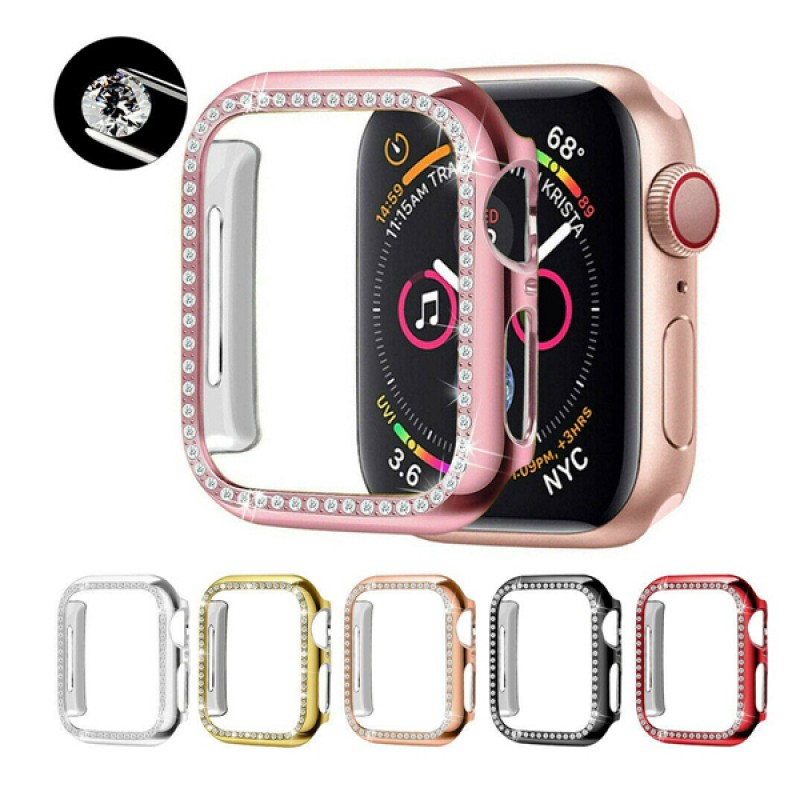 Apple Watch Bling Protector Case Cover Bumper Screen Frame