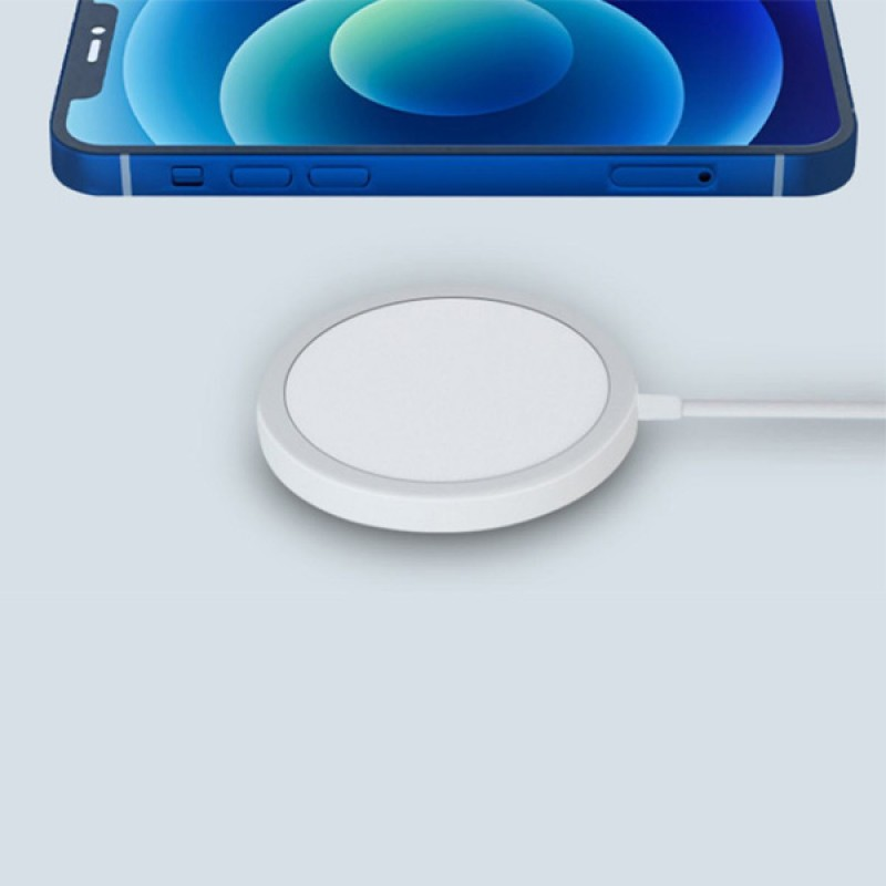 Magnetic Wireless Charger Qi Standard for iPhone 12 MagSafe